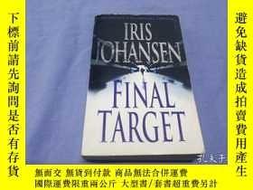 二手書博民逛書店Final罕見Target by Iris JohansenY8