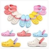 洞洞鞋 特價韓版休閑時尚款洞洞鞋情侶包頭涼鞋大頭沙灘鞋男女拖鞋 曼慕衣櫃