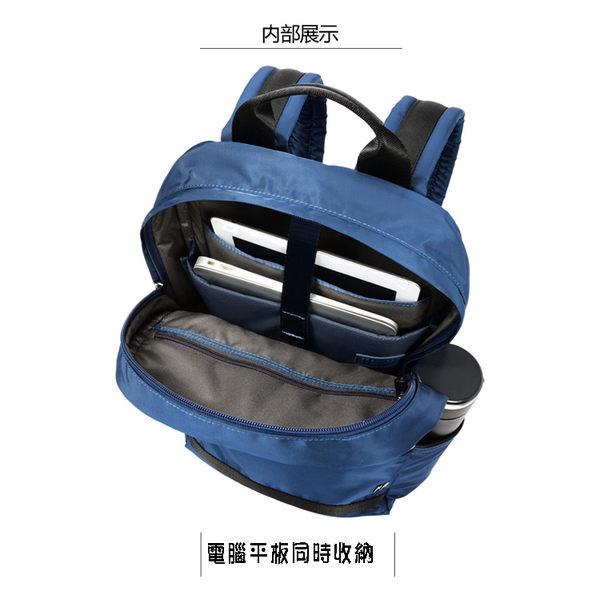 SUMDEX  14.1吋+IPAD城市商務後背包NON-791BU藍色