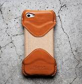 【日本ROBERU】iPhone 5/5c 手機套 皮套 原色焦糖