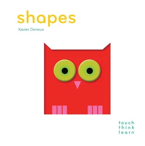 【高質感幼兒認知書】TOUCH THINK LEARN : SHAPES  /硬頁書 《主題:形狀》