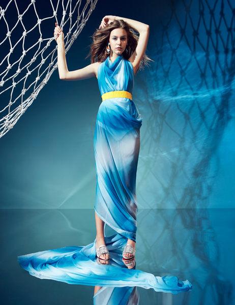 ★2019春夏★Keeley Ann造型透視跟 水鑽方釦綢緞低跟拖鞋(銀色) -Ann系列
