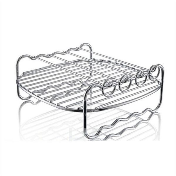 免運費 PHILIPS 飛利浦 氣炸鍋專用雙層烤架 HD9904