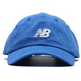 NEW BALANCE NB 寶藍 白刺繡LOGO 老帽 可調 男女皆可戴 (布魯克林) LAH91014CO
