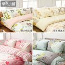 床包 / 雙人【純棉-多款可選】含兩件枕...