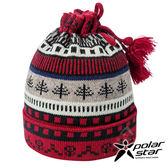【PolarStar】兩用造型保暖帽/圍脖『紅』P17618 羊毛帽 針織帽 毛帽 毛線帽 帽子 圍脖 圍巾