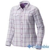 Columbia 女 防曬40快排長袖襯衫 紫色 UAK14980VP【GO WILD】