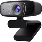 【免運費】ASUS 華碩 ROG Webcam C3 1080P 廣視角 網路攝影機 CCD / 相容於PC、Mac與ChromeOS
