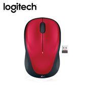 Logitech 羅技 M235 無線滑鼠 紅【滿399送暖手袋】