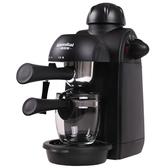 220V家用咖啡機迷你全半自動意式現磨壺煮小型蒸汽式WD 中秋節全館免運