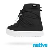 native 大童鞋 CHAMONIX 小漫步靴-時尚黑