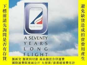 二手書博民逛書店a罕見seventy years long flight 七十年