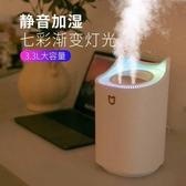 雙噴口加濕器usb桌面家用香薰車載靜音大容量凈化空氣噴霧