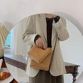 斜背包復古手提包休閒簡約女包包【聚物優品】