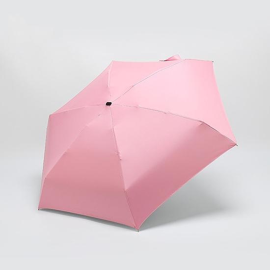 折疊傘 陽傘 雨傘 口袋傘  黑膠  防曬 兩用傘 袖珍傘 膠囊傘 超輕六骨摺疊傘【E93】MY COLOR