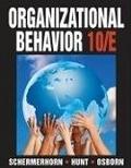 二手書博民逛書店 《ORGANIZATIONAL BEHAVIOR 10/E》 R2Y ISBN:0470086963│SCHERMERHORN