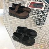 娃娃鞋日系森女風厚底小皮鞋百搭【聚可愛】