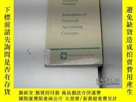 二手書博民逛書店Fasb罕見Statement Of Financial Accounting Concepts 1-6-財務會計