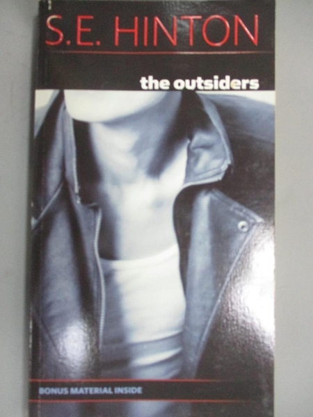 【書寶二手書T1/原文小說_OFF】The Outsiders_S. H. HINTON