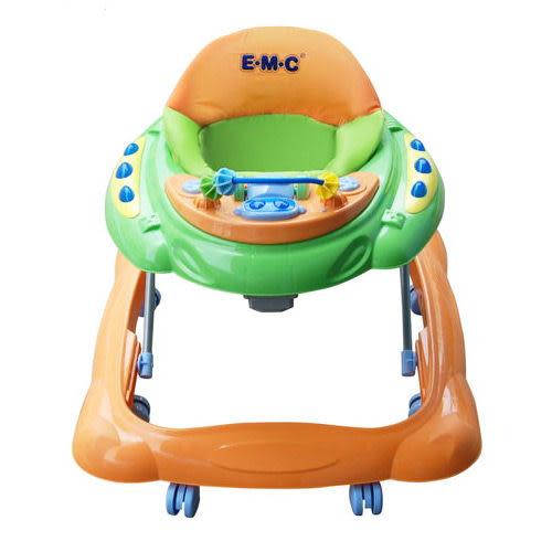 【奇買親子購物網】EMC太空升降式音樂腳行學步車/助步車