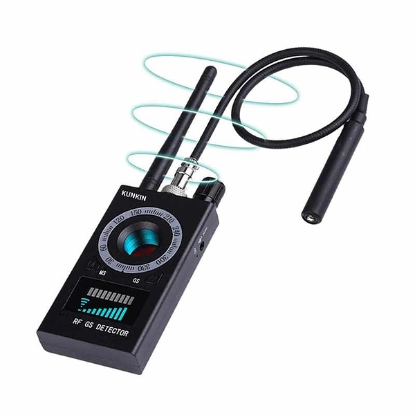 kunkin 反針孔偵測器 Hidden Camera Detector 磁場/鏡頭/GPS/音頻/光線檢測 反竊聽 [2美國直購]
