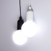 黑與白LED拉拉燈-大