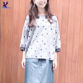 【春夏新品】American Bluedeer - 細格點寬鬆衣(特價) 二色