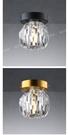 燈飾燈具 【燈王的店】哥本哈根 LED G9 5W 吸頂燈1燈 走道 玄關燈 黑色911521 / 金色911522
