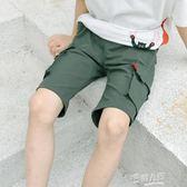 童裝男童短褲夏裝新款兒童褲子中褲中大童工裝褲五分褲韓版潮  9號潮人館