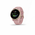 【綠蔭-免運】Garmin vivoactive 4S GPS 智慧腕錶-乾燥玫瑰(010-02172-35)