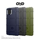 摩比小兔~QinD SAMSUNG Galaxy Note 10 Lite 戰術護盾保護套 保護殼 手機殼