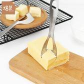 【狐狸跑跑】304不銹鋼黃油切割刀  芝士奶酪切刀 家用黃油切塊刀
