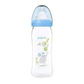 貝親 Pigeon 母乳實感彩繪玻璃奶瓶240ml(鼠寶動物奶瓶)PL383[衛立兒生活館]