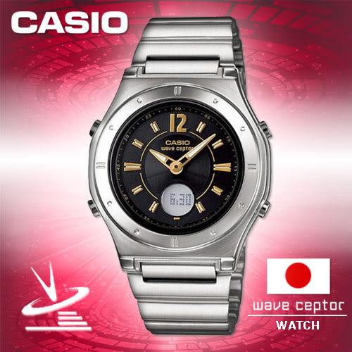 CASIO手錶專賣店 卡西歐 日本限定版電波時計 LWA-M141D-1AJF 女錶  雙顯 太陽能電力 節電功能