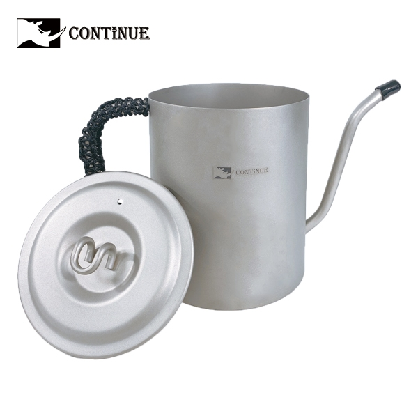 CONTINUE 純鈦手沖咖啡壺