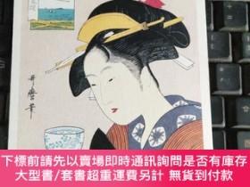 二手書博民逛書店明信片罕見日本美人,請看清圖片和名字Y2424 哥磨華 浪華屋