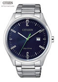 CITIZEN Eco Drive 簡約光動男錶(BM7350-86L)黑39mm