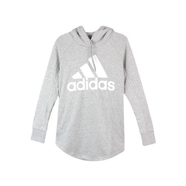 Adidas 女 W SID OH HOODIE 愛迪達 連帽T(長)- CZ5667