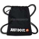 Nike 束口袋 Sportwear Heritage 黑 白 男女款 包包 背包 【PUMP306】 BA5430-016