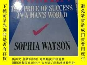 二手書博民逛書店THE罕見PRICE OF SUCCESS IN A MAN S