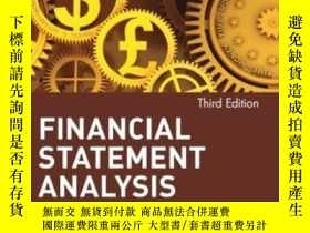 二手書博民逛書店Financial罕見Statement Analysis 3eY256260 Cfa Martin S. F