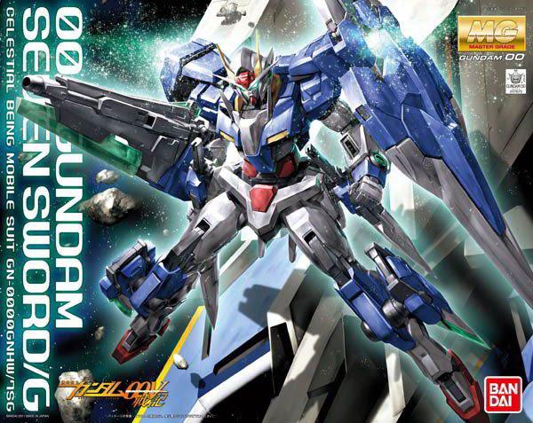 鋼彈00V戰記 BANDAI組裝模型 MG 1/100 GN-0000GNHW/75G 七劍型00鋼彈G