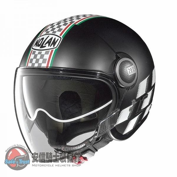 [安信騎士] 義大利 Nolan N21 VISOR ASSO #21 半罩 安全帽 內墨片 復古 哈雷 VESPA