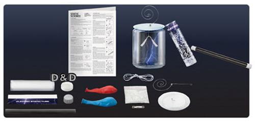 《 4M科學探索 》Static Science 神奇靜電料學 ╭★ JOYBUS玩具百貨