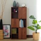 [ 家事達 ] SA-2626 雅砌-三門六格 收納書櫃(胡桃色) 特價 DIY