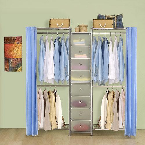 【中華批發網DIY家具】D-62A-01-W2型60+pp+W2型60衣櫥置物櫃-(前罩)不織布