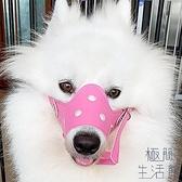 狗嘴套口罩防叫防咬防亂吃大中小型犬狗套【極簡生活】