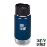 klean kanteen Insulated Wide 12oz寬口保溫鋼瓶(54mm) 附新型咖啡蓋『深海藍』K12VWPCC不鏽鋼水壺│保溫杯