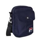 FILA 斜背包 Crossbody Shoulder Bag 藍 白 男女款 外出 側背包 肩背 隨身小包 【ACS】 BMV3014NV