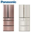 【南紡購物中心】Panasonic國際牌601公升六門日本原裝冰箱(NR-F607VT)